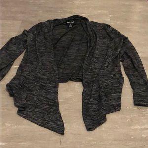 Dark cardigan